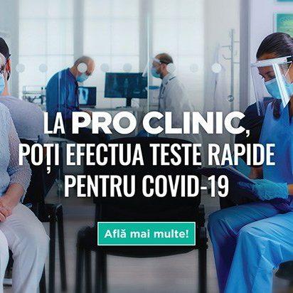 Test rapid Covid in Galati